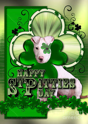 St Patricks - Happy St Pitties Day Poster