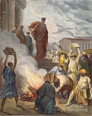 St. Paul At Ephesus Poster by Granger