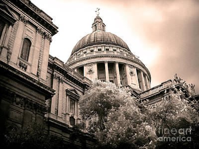St. Paul's Cathedral Poster by Thanh Tran