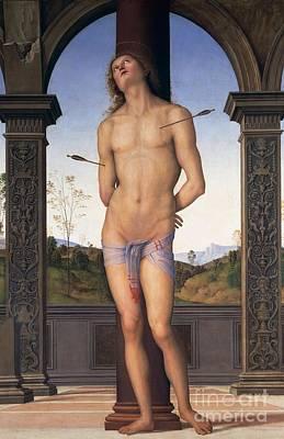 St Sebastian Poster by Pietro Perugino