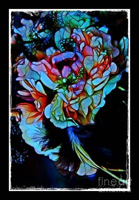 Stained Glass Bouquet Poster