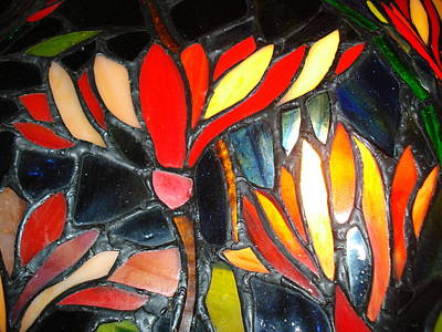 Stained Glass Four Poster