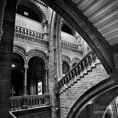 Stairs And Arches Poster by Martin Williams
