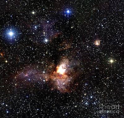 Star Formation Region Poster