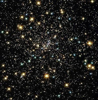 Stars In Globular Cluster Ngc 6397 Poster by Nasaesastscihubble Heritage Team
