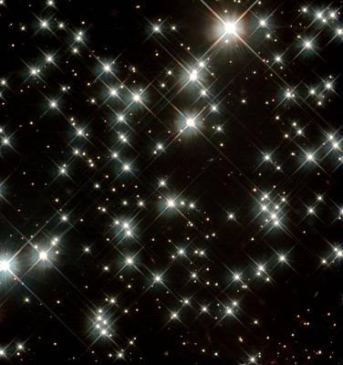 Stars In M4 Globular Cluster Poster by Nasaesastscih.richer,ubc