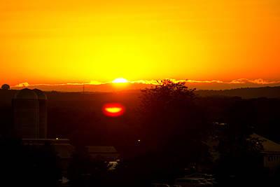 State College Sun Set Poster