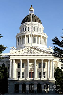 State Of California Capitol Building . 7d11736 Poster by Wingsdomain Art and Photography