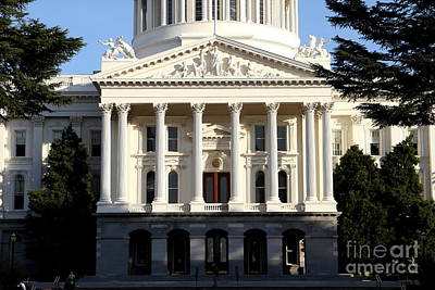 State Of California Capitol Building . 7d11737 Poster by Wingsdomain Art and Photography