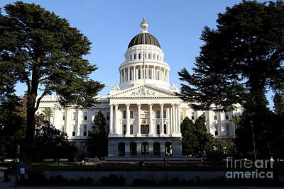 State Of California Capitol Building . 7d11743 Poster by Wingsdomain Art and Photography