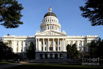 State Of California Capitol Building . 7d11746 Poster by Wingsdomain Art and Photography