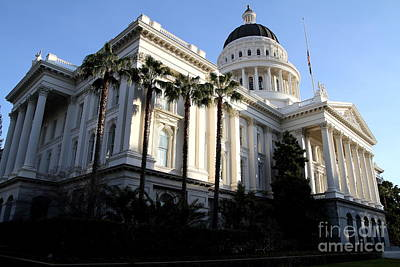 State Of California Capitol Building . 7d11752 Poster by Wingsdomain Art and Photography
