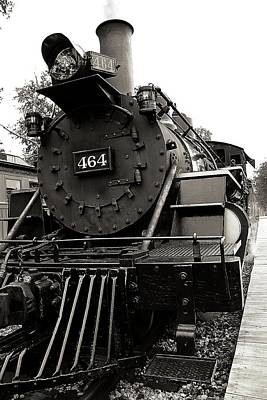 Steam Engine 464 Poster by Scott Hovind