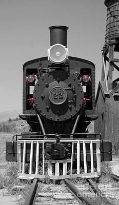 Poster featuring the photograph Steam Engine Train by Deniece Platt