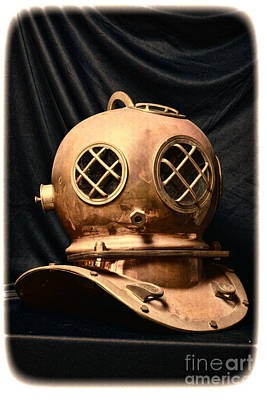 Steampunk - Diving - Diving Helmet Poster