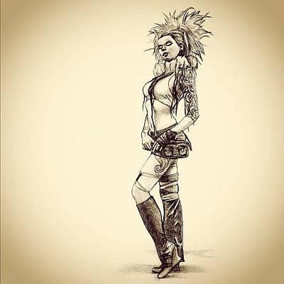Steampunk Girl 2 Poster