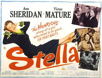 Stella, Ann Sheridan, 1950 Poster