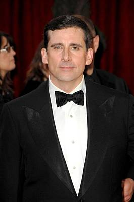 Steve Carell At Arrivals For Red Carpet Poster by Everett