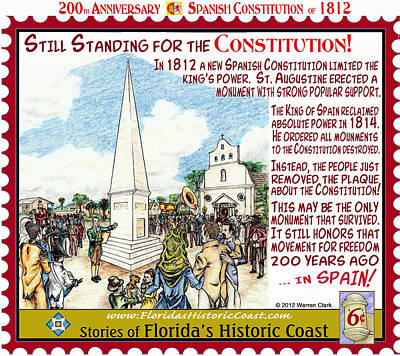 Still Standing For The Constitution Poster