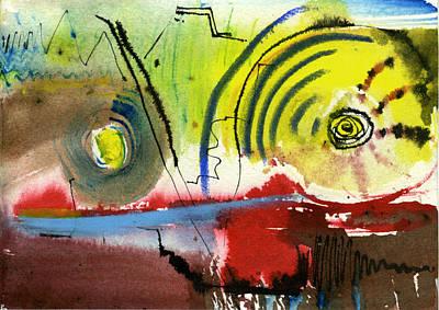 Stockhausen In Freundschaft II Poster by David Esslemont