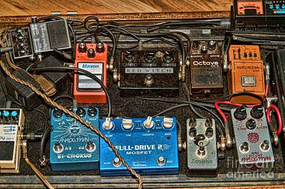 Poster featuring the photograph Stomp Box by Kim Wilson
