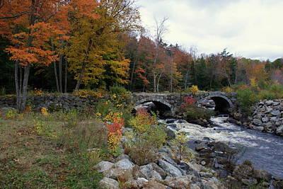 Stone Bridge Autumn 2011 Poster