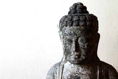 Stone Buddha Poster by Janita Topan