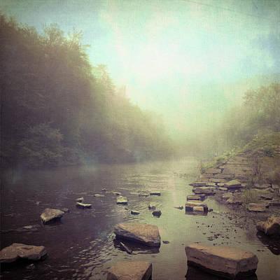 Stones In River Poster by Dirk Wüstenhagen Imagery