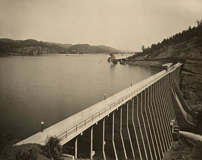 Stony Gorge Dam In Northern California Poster by Everett