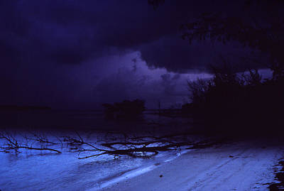 Storm At Dawn Poster by Bob Whitt