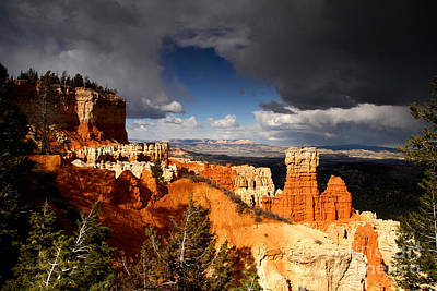Storm Over Bryce Canyon Poster by Butch Lombardi