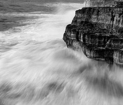 Poster featuring the photograph Stormy Sea 1 by Pedro Cardona