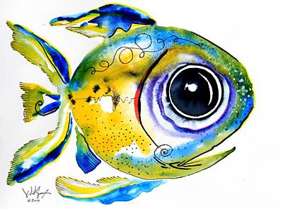Stout Lookout Fish Poster