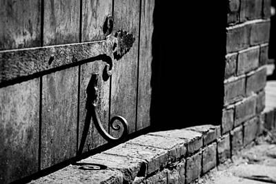 Detail Of Old Door Poster
