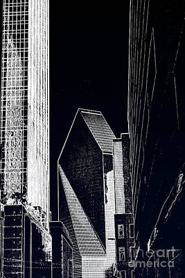 Poster featuring the photograph Streets Of Dallas by Joe Finney