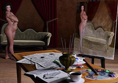 Studio Life Poster by Maynard Ellis