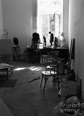 Studio Of An Artist 1 Poster