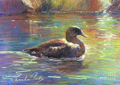 Sue's Duck Poster by Pamela Pretty
