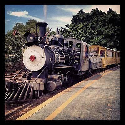 Sugar Cane Train Poster