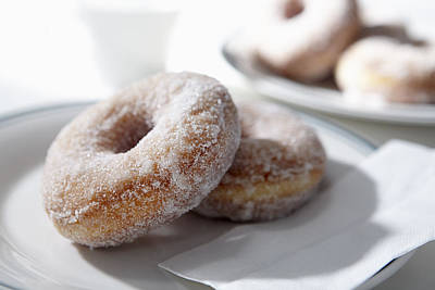 Sugar Coated Donuts Poster