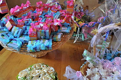 Sugared Almond Baskets Poster
