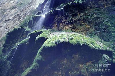Sumidero Canyon Waterfall Chiapas Mexico Poster