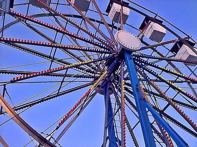 Summer Festival Ferris Wheel Poster