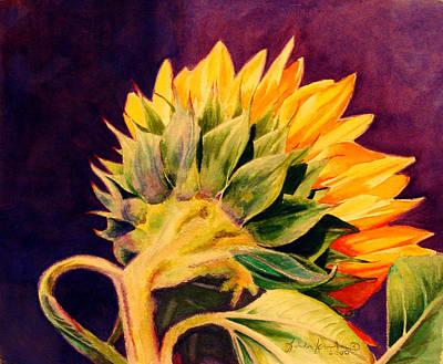 Sun Flower Poster by Linda Krukar
