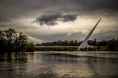 Poster featuring the photograph Sundial Bridge - 1 by Randy Wood