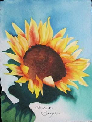 Sunflower 2 Poster by Teresa Beyer