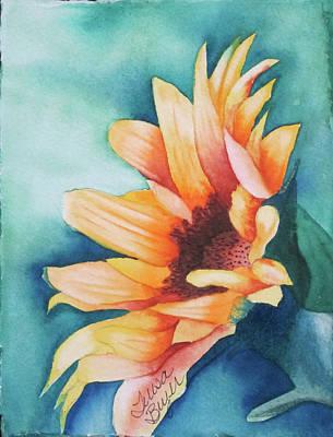 Sunflower Poster by Teresa Beyer