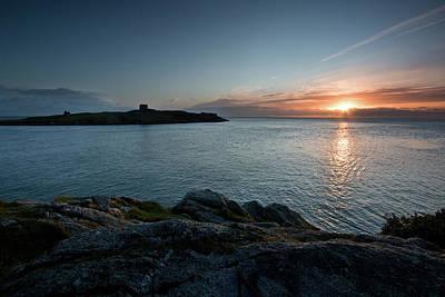 Sunrise At Dalkey Island Poster