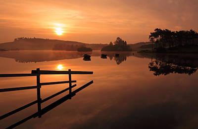 Sunrise At Knapps Loch Poster