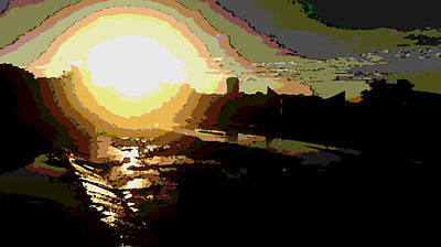 Sunrise Poster by David Alvarez